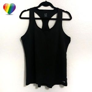 Champion Duo Dry Black Athletic Tank Top